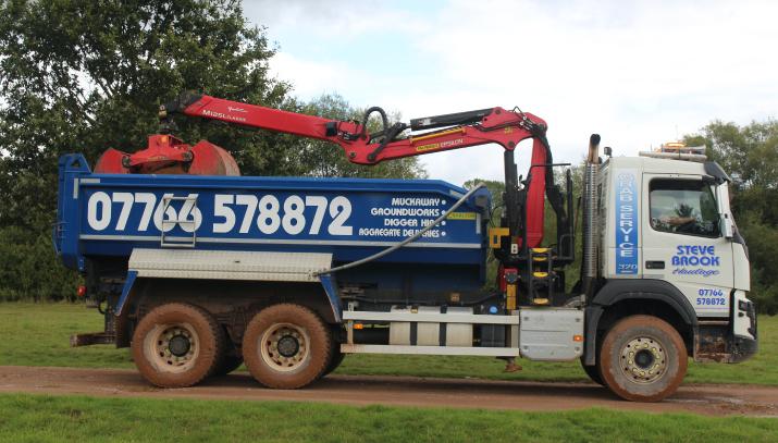 grab lorries based in exeter