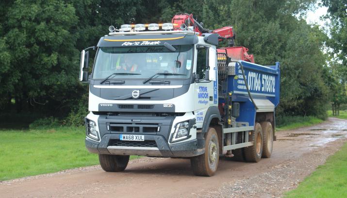 grab lorries devon